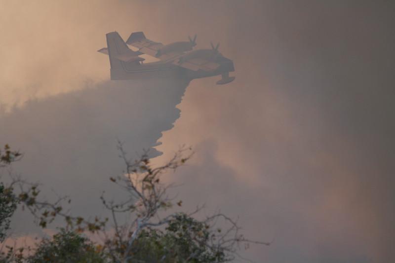 Camp Pendlton Fire 10-08 045