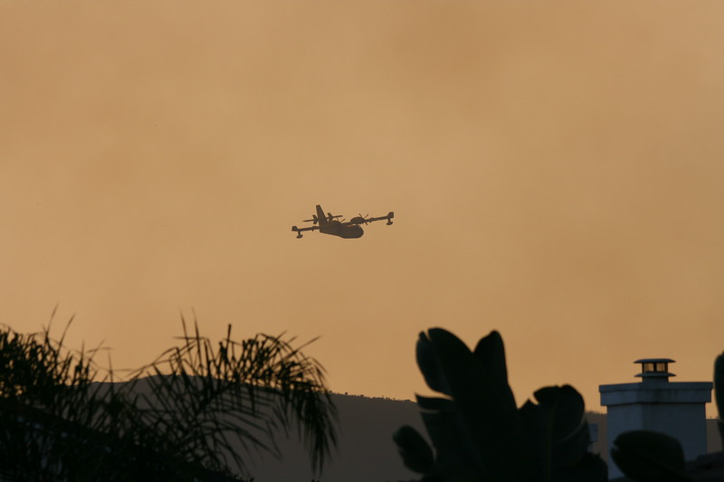 Camp Pendlton Fire 10-08 041