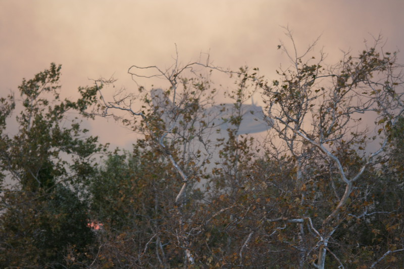 Camp Pendlton Fire 10-08 048