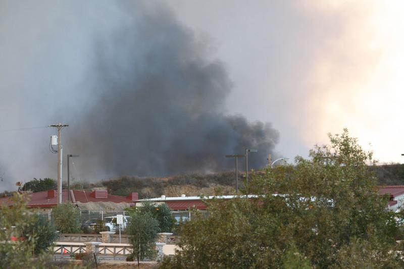 Camp Pendlton Fire 10-08 037
