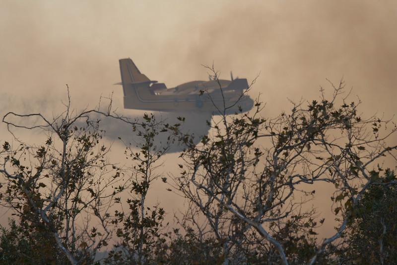 Camp Pendlton Fire 10-08 043