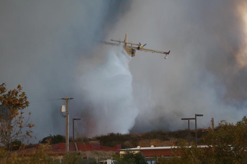Camp Pendlton Fire 10-08 014