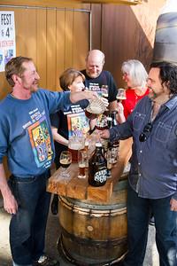 Volunteers for Portland's Spring Wine and Beer Fest