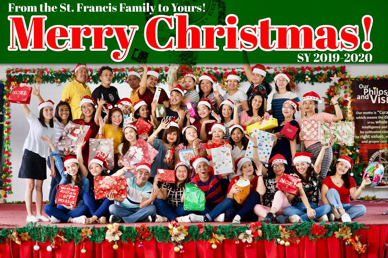Merry Christmas from the SFAMSC Family to Yours! 2019
