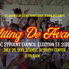 SFAMSC Student Council MITING DE AVANCE  2019