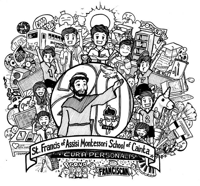 SFAMSC Doodle Art  by Donn Luis Diaz 2018