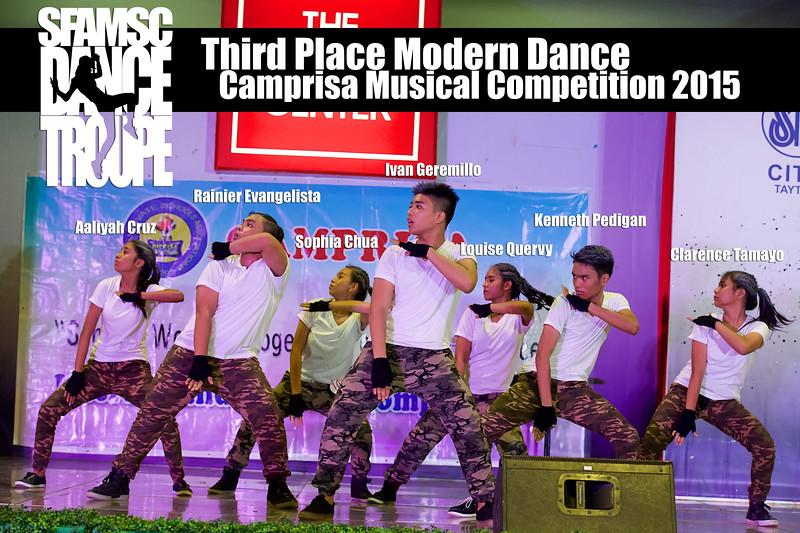 comprisa musical compeitition participants 2015