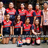 JHS Girls Volleyball Varsity Team SY 2019-2020