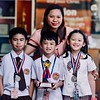 Congratulations to our young grade school mathematicians for winning second place in the CAMPRISA Academic Inter-school Competition Primary Level - Mathematics :<br /> Zane Neil R. Dustin Calinog (Grade 2-Peace) <br /> Maria Alessandra F. Marcos (Grade 3-Truth) <br /> Gadiel Andre T. Villaflores (Grade 3-Loyalty)<br /> Thank you so much to the Calinog, Marcos, and Villaflores families for their faith in SFAMSC and unconditional love and support for their children. Thank you so much to their Math coach and teacher Ms. Monika Kristia A. Sausal, for her tireless tutoring of our champions. Also, many thanks to Ms. Maricel Cruz Doroteo for her consistent and diligent logistical support.<br /> We are all very proud of what everyone has accomplished! You are all amazing!