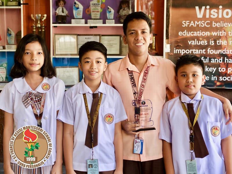 3rd Place AP RIPRISA Academic Contest 2019
