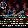 Permanent Effects of Drinking in Teens