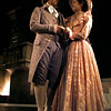 """James Haskins plays Thomas Jefferson and Jennifer Cousin his wife Martha in the musical """"1776."""" Chris Matula photo."""