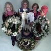 Longview Christian Women's Club--Paula Allen, Billie Allwhite, Barbara Eaton, JoAnn Bryan.  Lester Phipps, Jr.