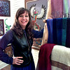 Malinda Norman at her Art Gallery in Henderson. Kevin Green