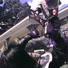 "Dean Bradshaw goes after brother Dan Bradshaw with a Klingon weapon known as a ""bet LeH"". Obie LeBlanc."