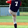 Date:   7/24/98---Longview 13-year-old Dixie League pitcher, Brian Gilbert, gets ready to throw his next strike. Jessica Williamson