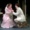 Date:   6/25/98---Colleen Madden, left, as Cecily, and Jason O'Connell as Algernon during the Importance of Being Earnest. Kevin green