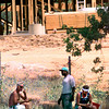 Date:   6/2/98---Joe Don Smith, left, Terry Sinegal, center, and Joseph Kiker, right, with Triple J Construction of Grapeland, TX., find a shade tree to take a lunch break Tuesday afternoon at a construction site on north Eastman in Longview. Kevin green