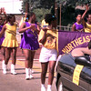 Date:   6/20/98---Members of the Norheast Drill Team from Houston march in the Saturday morning Juneteenth parade in down town Longview. Jessica Williamson