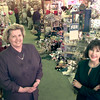 Date:   11/4/98----Anita Holley, left, Liz Lockhart, right, owners of Ridgways Cards Shop in the shop on East Marshall Ave. Wednesday afternoon in Longview. Kevin green