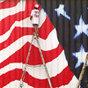 AMERICAN FLAG MURAL