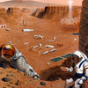 Mars Colony for the water in 100yrs Story