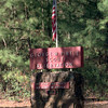 12-29-99---The sign at the entrance to the George W. Pirtle Boy Scout Camp outside Carthage. kevin GReen