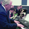 7/12/99-Pianist Jerry Hale and band members<br /> Jessica Williamson