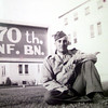 6/5/99---E.E. Black poses for a photo at Fort Sill in Oklahoma taken in June of 1942. Courtesy photo