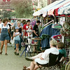 6/4/99---Crowds start to gather Friday afternoon as AlleyFest opens in downtown Longview. bahram mark sobhani