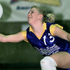 Big Sandy's Tayler Cooksey can't reach a Lady Hippo spike in the third game of their match. bahram mark sobhani