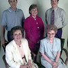 8-24-00---Dee East Texas club officers front left Peggy Mayfield-pres, Dr. Shir;ey Dahl-vice pres, back row left, Greg Gaston-treas, Debbie Connor-sec,  Franks Dykes-vice pres membership, not piced---a long list. Kevin GReen