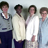 8-24-00---Lef to right---Pineywoods reading council--Evelene Albert-sec, Sarah Sheppard-treas, Peggy Mayfield-vice pres, Dr. Shirley Dahl-board member, not piced to many to list. Kevin GReen
