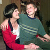 2-28-00---Susan Humble with her son Spencer,10. Susan was born on leap day so in leap years she is also ten. Kevin Green