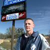 West Rusk High School senior Billy Fields is active in 4-H, and basketball.  by DALRENE-1-31-00