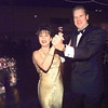 Jill and Tom Chinn enjoy dancing at the Junior League Charity Ball held at Maude Cobb Convention and Activity Center Saturday evening.  by DARLENE-1-29-00