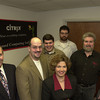 11-22-00----Left to right, the staff of Expert Computing, Steve Divers, Mike Brown, Henry Sandfur, Cliff Gaines, Jim Carter, and front is Suzanne Bickham, not piced is Bobby Akin. Kevin green