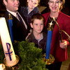 Advent candle lighting at First Unitied Methodist Church. (Left to Right) Kyle Hart, Cooper Hart, 5, Bradley Hart, 7, and Lori Hart.