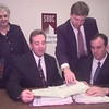 9-25-00---Back row Left to right---Barbara Mizell-sec, Ken Estes-counselor, front left to right--Brad Bunt-director, and Todd Long-training coordinator. Keivn GReen