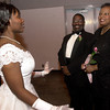 Deb Chandalyn Lewis, left, visits with her parents Edward and Rhonda Lewis, of Longview prior to being introdeced at the Deb Ball at Maude Cobb in Longview. Kevin Green