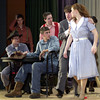 CRAZY FOR YOU DRESS REHERSAL TUESDAY OCTOBER 30, 2001. LES HASSELL