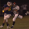 Pine Tree's #9 runs with the ball during Friday night's game in Longview. Kevin green