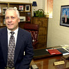 Pine Tree High School Principal Kevin Stanford in his office  Wednesday july 31, 2002 at the school in Longview. KeviN green