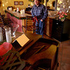 Owner, Jeff Sneed at the Los Pinos Ranch Vineyard Monday, December 29, 2003. (Les Hassell/News-Journal Photo)