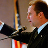 Max Sandlin gestures as he speaks to Longview Partnership members and guests at the Pinecrest Country Club Wednesday May 28, 2003.
