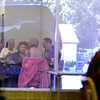 Member of the Longview Bridge Club are reflected off a window as they play a game of bridge Monday afternoon September 30,2003. Ricardo B. Brazziell