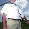 Longview high school soccer coach. April 30,2004. Ricardo B. Brazziell