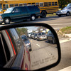 After school traffic a Loop 281 and Pine Tree Rd. Friday, February 27, 2004. (Les Hassell/Longview News-Journal)