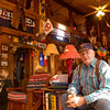 Gregg County Constable Jim Montgomery at his cabin on his Circle M ranch off Texas 300 north of Longview. Kevin Green