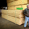 Steve Dean at Texas Forest Products in Gilmer, TX Thursday, January 29, 2004. (Les Hassell/News-Journal Photo)